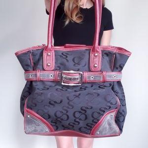 Sophia Caperelli Shoulder Bag Monogram Black